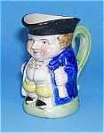 Click here to enlarge image and see more about item POT0516AA1: TINY Full Figure Toby Jug MALE