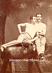 c.1915 Male GYMNASTS Very CLOSE - Photo - GAY INTEREST