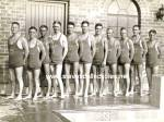 1920s Bulgy Male SWIM TEAM -  Photo - GAY INTEREST
