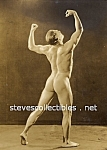 Early MUSCULAR GUY Bodybuilding Photo