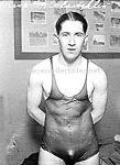 1920s WET PHYSIQUE - HOT Male Swimmer Photo - GAY INT.