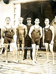 Click to view larger image of 1905 NICE WET PHYSIQUES-Male Swimmers Photo - GAY INT. (Image1)