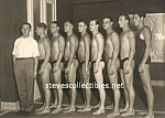 Click here to enlarge image and see more about item PR0308AA1-2008: Early Nearly Naked SWIM TEAM -  Photo - GAY INTEREST