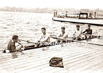 Early YALE CREW Handsome Team Photo - GAY INTEREST