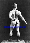 c.1893 EUGEN SANDOW Nude Bodybuilding Photo B - 5 x 7