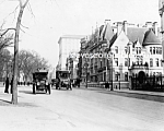 Click here to enlarge image and see more about item PR0317C6-2007: c.1913 EARLY BUSSES - 5th Ave. NYC Photo - 8 x 10