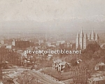 c.1900 SALT LAKE CITY UTAH Mormon Temple Photo - 8 x 10