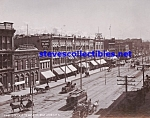 c.1900 SALT LAKE CITY E. Temple Street PHOTO