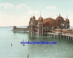 c.1901 SALT AIR PAVILION Great Salt Lake UTAH Photo