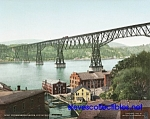 c.1904 POUGHKEEPSIE BRIDGE New York Photo - 8x10