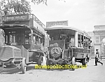 Click here to enlarge image and see more about item PR0504A2-2007: c.1915 EARLY BUSSES - 5th Ave. NYC Photo B - 8 x 10