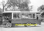 Click here to enlarge image and see more about item PR0504A3-2007: c.1915 EARLY CITY BUS - 5th Ave. NYC Photo C - 5 x 7