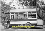 Click here to enlarge image and see more about item PR0504A4-2007: c.1915 EARLY CITY BUS - 5th Ave. NYC Photo D - 5 x 7