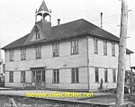 Click here to enlarge image and see more about item PR0504A9-2007: 1912 NOME, ALASKA Public School - Photo - 8 x 10