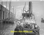 c.1910 JERSEY CITY, N.J. Suffrage Tug Boat Photo - 8x10
