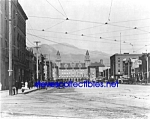 c.1908 COLORADO SPRINGS, CO Pikes Peak Ave. Photo-8x10