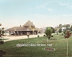 c.1900 PETOSKEY, MICHIGAN Pere Marquette Station Photo