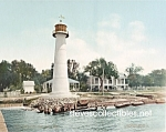 c.1901 BILOXI LIGHTHOUSE Mississippi Photo - 8 x 10