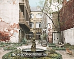 c.1903 NEW ORLEANS, Old French Courtyard Photo - 8 x 10