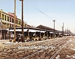 c.1900 NEW ORLEANS, The French Market Photo - 8 x 10