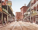 c.1900 NEW ORLEANS, St Charles Avenue Photo B - 8 x 10