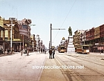 c.1900 NEW ORLEANS, Canal Street Photo - 8 x 10