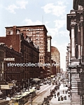 c.1900 CHICAGO, ILLINOIS Randolph Street Photo-8x10