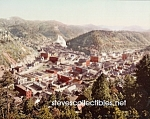 c.1900 DEADWOOD, South Dakota Birds Eye Photo - 8 x 10