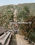 Click here to enlarge image and see more about item PR0508B8-2007: c.1905 California Mt. Lowe RAILWAY INCLINE Photo-8x10