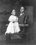 c.1914 PHILIPINO MIDGETS Photo 8 x 10 - Side Show