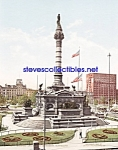 c.1900 CLEVELAND, OHIO Soldiers-Sailors Monument -Photo