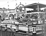 Click here to enlarge image and see more about item PR0518A7-2007: c.1905 CONEY ISLAND - The Cakewalk Ride - Photo - 8x10
