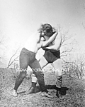 Click here to enlarge image and see more about item PR0519A2-2007: c.1910 EMIL KLANK-PETER ROONEY Wrestling - Photo