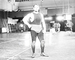Click here to enlarge image and see more about item PR0519A7-2007: c.1910 JOE ROGERS American Apollo Wrestling - Photo