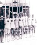 1912  WISCONSIN Varsity Rowing TEAM Photo-GAY INTEREST
