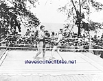 Click here to enlarge image and see more about item PR0527A2-2007: c.1919 OUTDOOR BOXERS IN RING-Audience - Photo