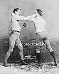 Click here to enlarge image and see more about item PR0527A3-2007: c.1890 BOXERS - Cross Counter - Photo - 8 x 10