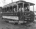 Click here to enlarge image and see more about item PR0527A8-2007: c.1890 WASHINGTON D.C. Streetcar Photo - 8 x 10
