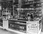 c.1920 PEOPLES DRUG STORE Interior, Wash. D.C. Photo