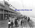 c.1903 ROCKAWAY, LONG ISLAND Board Walk Photo - 8x10