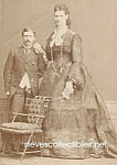 c.1875 GIANTESS Side Show - Circus Photo 5x7