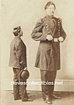 c.1875 GIANT Side Show - Circus Photo 5x7