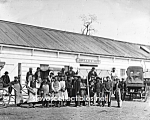c.1865 AMBULANCE SHOP - Washington D.C. Group Photo