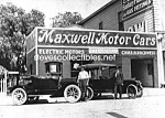c.1914 MAXWELL MOTOR CARS Photo, Anaheim - 5 x 7