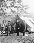 Click here to enlarge image and see more about item PR0703A1-2007: 1862 ALLAN PINKERTON Abe Lincoln CIVIL WAR Photo-8x10
