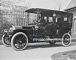 Click here to enlarge image and see more about item PR0703A6-2007: c.1909 PRES. TAFT Pierce Arrow Automobile Photo - 8x10