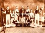 Early WRESTLING CLUB/Weights - Muscular Men Photo-GAY INT.