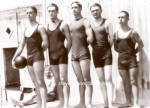 Early BULGY Male BASKETBALLERS Photo - GAY INTEREST