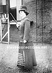 Click here to enlarge image and see more about item PR0812B1-2007: c.1910 LADY Police Officer Photo - 5x7