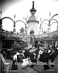 c.1905 LUNA PARK, Coney Island, NY - Photo - 8 x 10